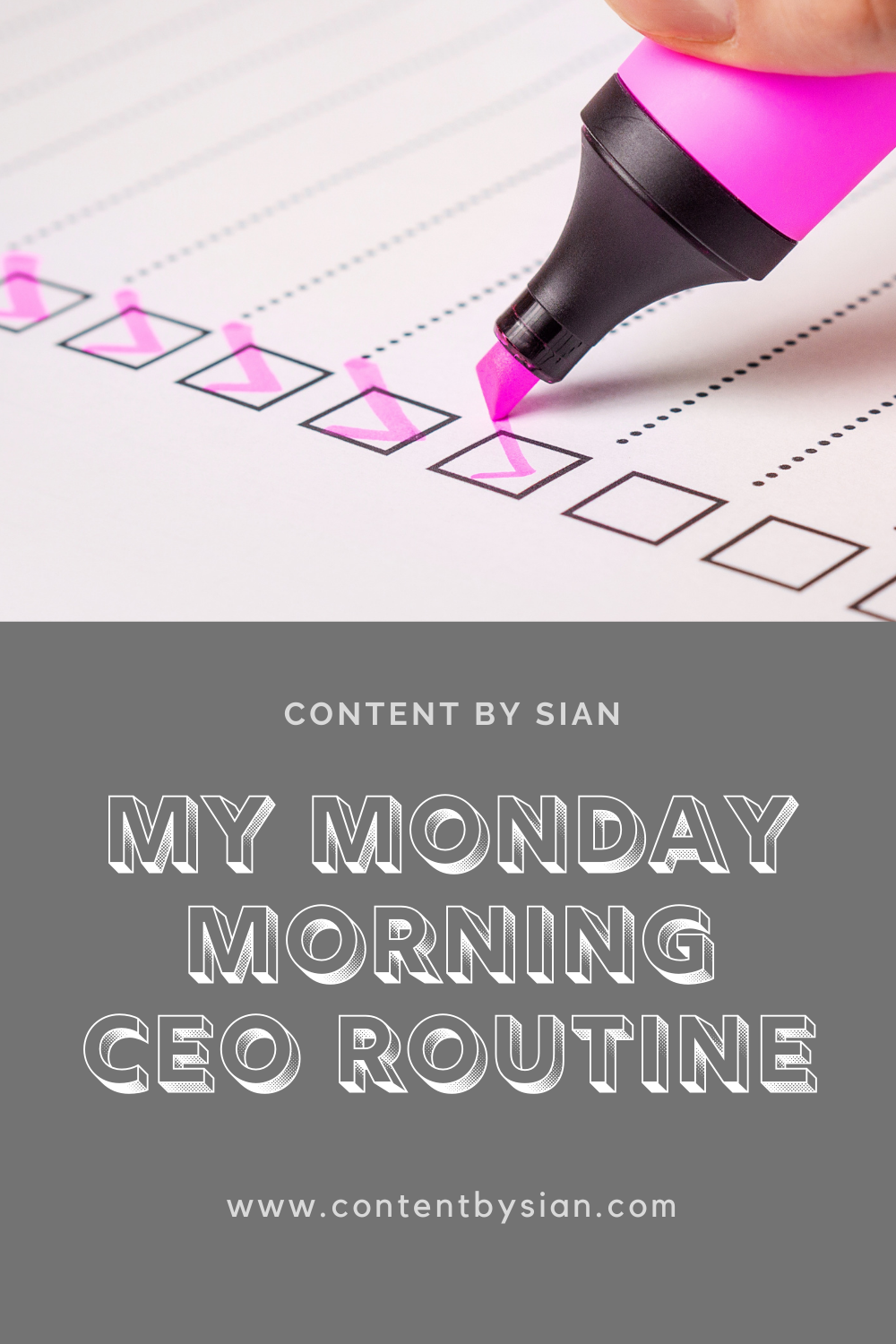 my-monday-morning-ceo-routine-pinterest