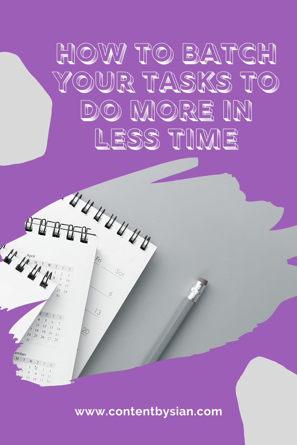 how-to-batch-your-tasks-to-do-more-in-less-time-pinterest